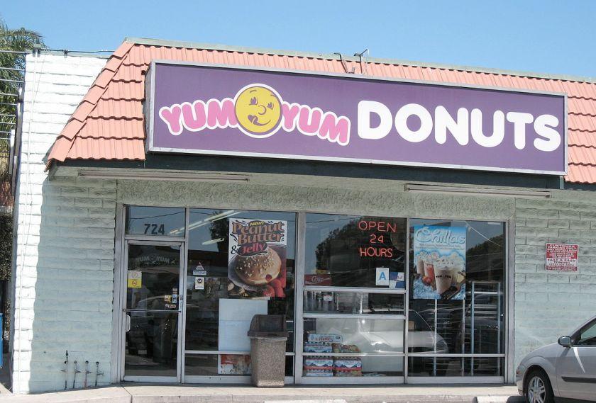 yumyum donuts