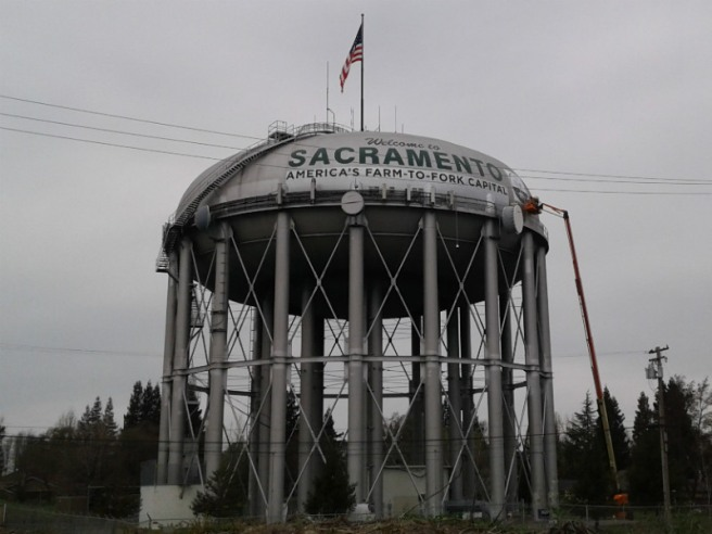 Water tower Sac