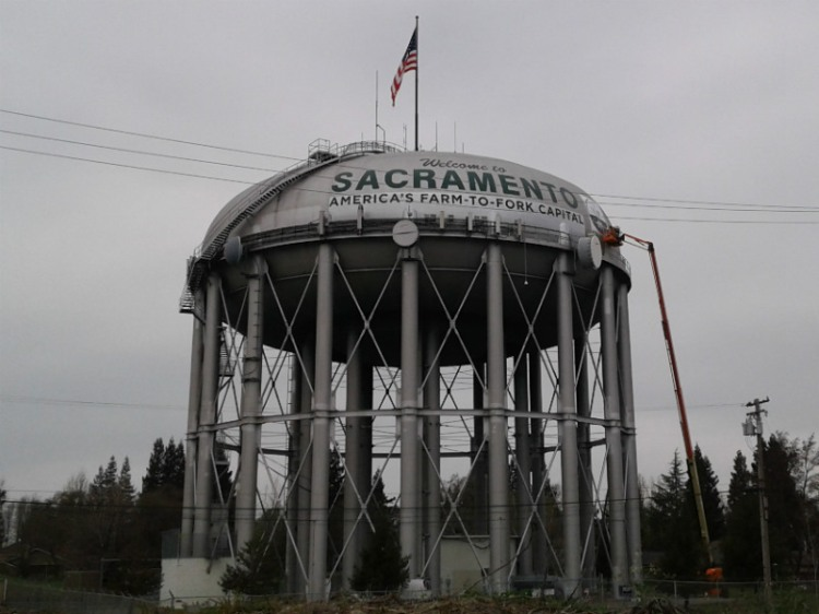 Water tower Sac